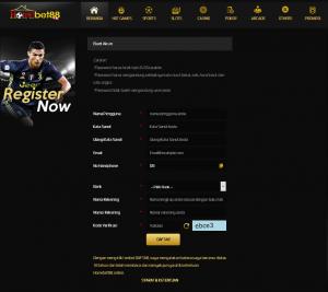 Cara Membuat Id Pemain di Situs Judi Slot Online Homebet88