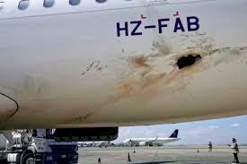 Pesawat Penumpang Terkena Serangan Drone di Arab Saudi