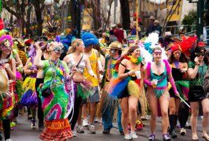 Festival Mardi Gras Pertunjukan Gratis Di New Orleans