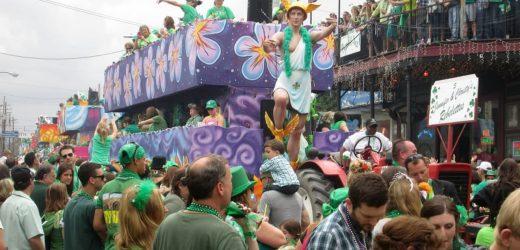 Menikmati Festival St. Patrick's Day di New Orleans