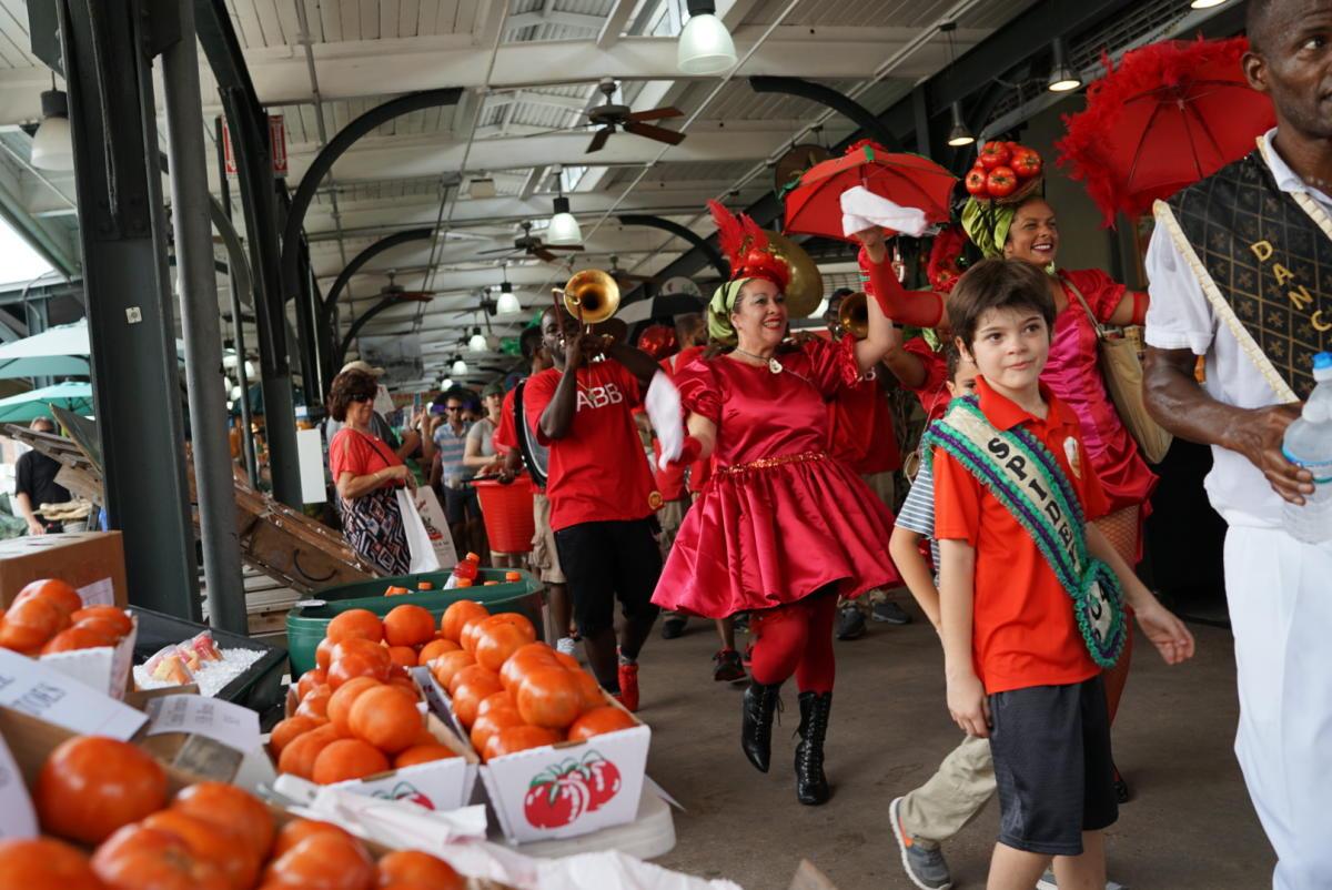 Festival French Market Creole Tomato Di New Orleans